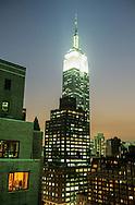 New York. elevated view on Manhattan  Manhattan  United States /   Vue sur Manhattan , New York  Etats unis