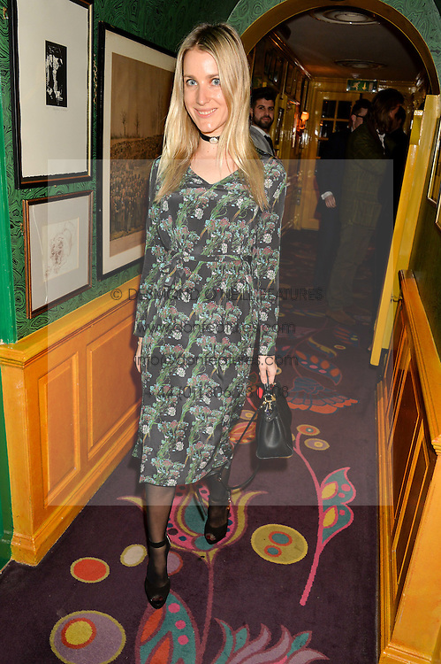 EKATERINA MALYSHEVA at the 2nd Bright Young Things Back In London party held at Annabel's, 44 Berkeley Square, London on 11th February 2016.