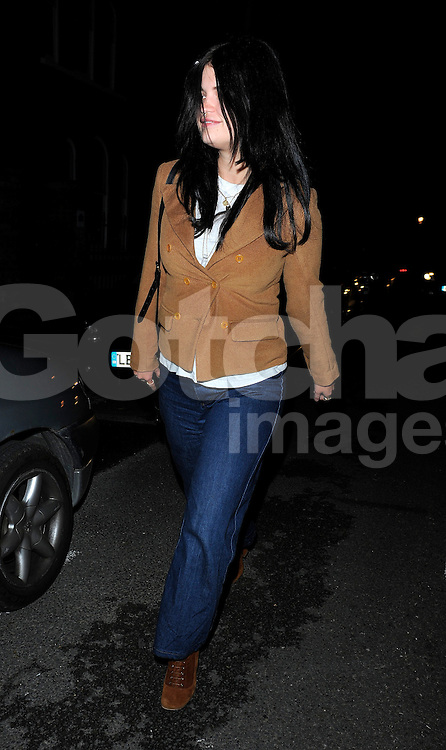 Pixie Geldof visits Daisy Lowe in north London, UK. 29/05/2015<br />