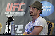 BIRMINGHAM, ENGLAND, NOVEMBER 3, 2011: Brad Pickett is pictured at the pre-fight press conference for UFC 138 inside the Hilton Hotel on November 3, 2011.