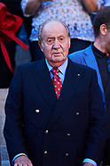 051917 King Juan Carlos Attends Bullfights in Madrid