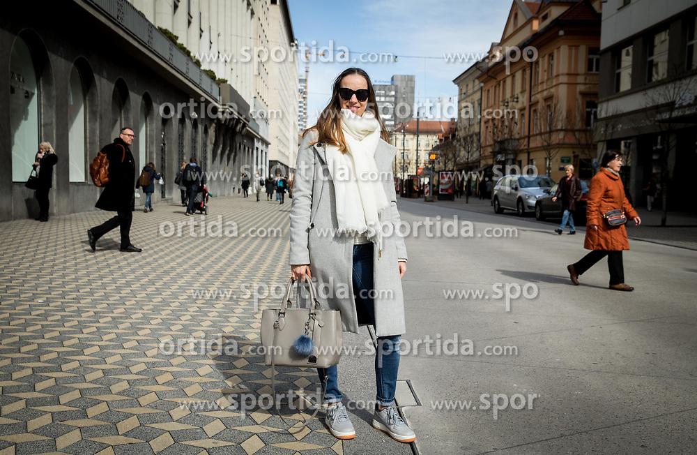 Branka Grbin, journalist of Siol.net, on March 7, 2017 in Ljubljana, Slovenia. Photo by Vid Ponikvar / Sportida