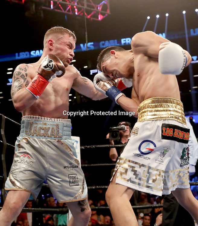 WBA featherweight Title Contest, Barclays Centre, Brooklyn, NY, USA 30/7/2016<br />