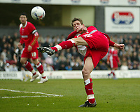 Photo: Aidan Ellis.<br /> Grimsby Town v Swindon Town. Coca Cola League 2. 17/03/2007.<br /> Swindon's Lucas Jutkiewicz