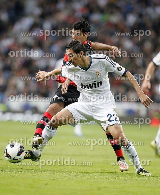 20.10.2012, Estadio Santiago Bernabeu, Madrid, ESP, Primera Division, Real Madrid vs Celta de Vigo, 8. Runde, im Bild Real Madrid's Angel Di Maria // during the Spanish Primera8ivision 8th round match between Real Madrid CF and Celta de Vigo at the Estadio Santiago Bernabeu, Madrid, Spain on 2012/10/20. EXPA Pictures © 2012, PhotoCredit: EXPA/ Alterphotos/ Alvaro Hernandez..***** ATTENTION - OUT OF ESP and SUI *****