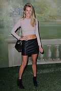 Sept. 8, 2014 - New York, NY, USA - <br /> <br /> Jessica Hart attending the Alice + Olivia By Stacy Bendet presentation during Mercedes-Benz Fashion Week Spring 2014 at The Pierre Hotel <br /> ©Exclusivepix