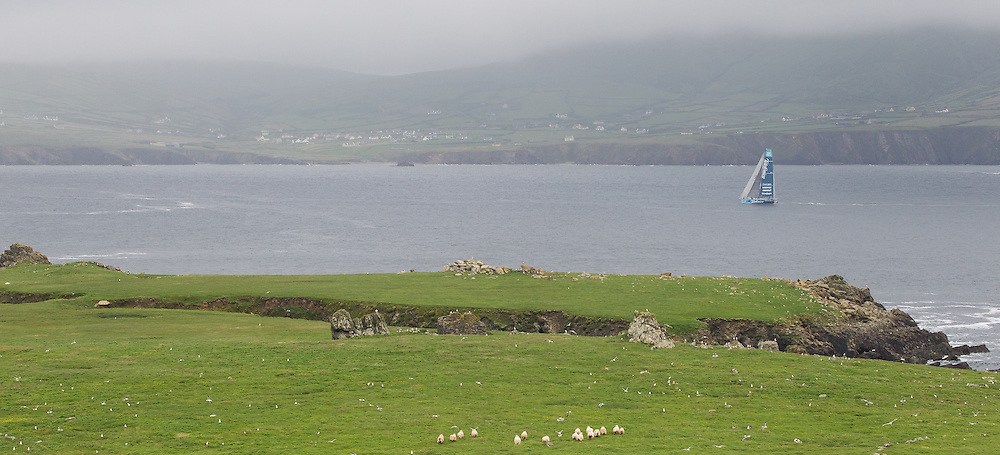 IRELAND, Dingle Peninsula. 2nd July 2012. Volvo Ocean Race, Leg 9, Lorient to Galway. Team Telefonica.