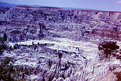 Vacation trip to South Dakota - Badlands-  circa 1963<br /> <br />  Photos taken by George Look.  Image started as a color slide.