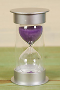 modern colourful sand Hourglass