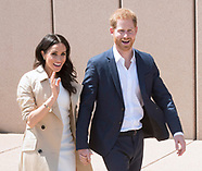 Meghan Markle & Prince Harry Walkabout, Sydney