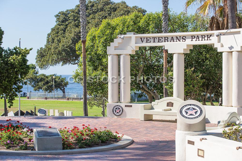 Veterans Park at Redondo Beach Overlooking the Ocean