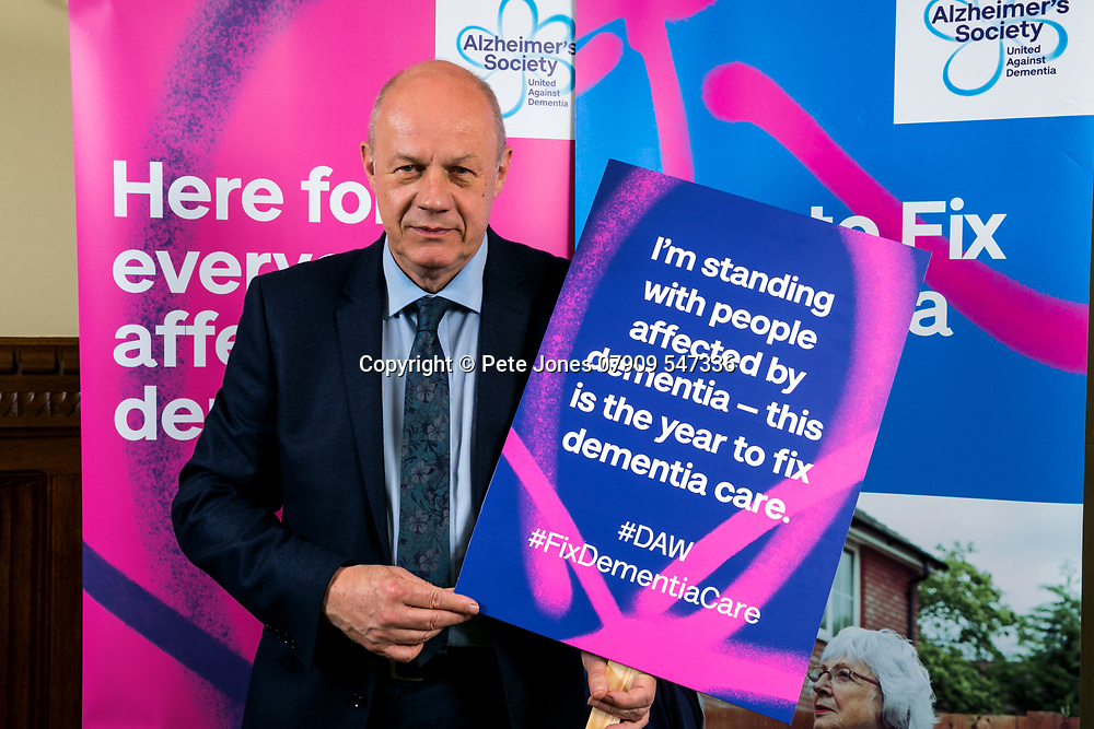 """Damian Green MP;<br /> Alzheimer's Society;<br /> """"Fix Dementia Care & State of the Nation""""<br /> Parliamentary report Launch;<br /> Houses of Parliament, Westminster.<br /> 23rd May 2018.<br /> <br /> © Pete Jones<br /> pete@pjproductions.co.uk"""