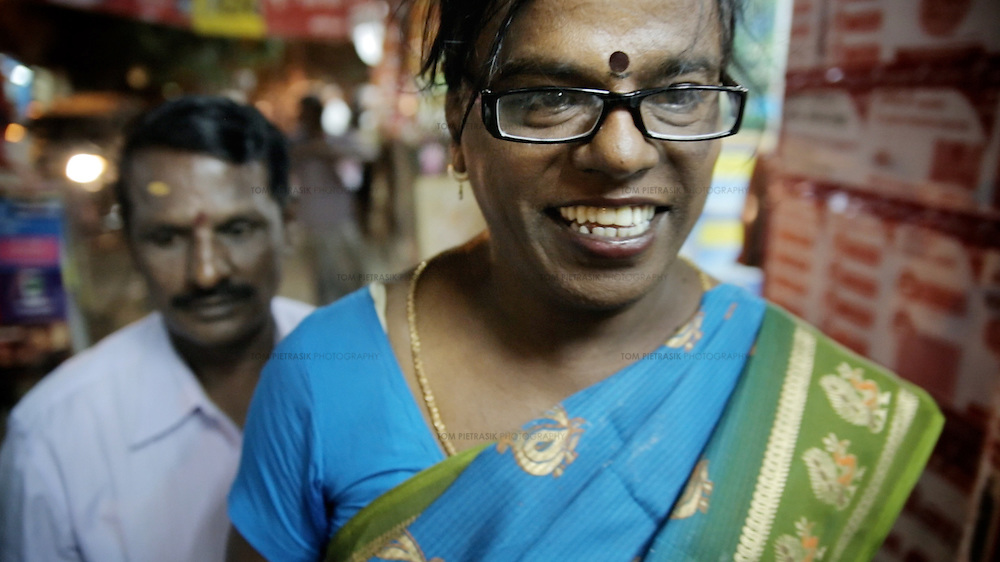 Bharathi Kannamma, Independent candidate for Madurai in Indian Election 2014.<br /> <br /> Photo: Tom Pietrasik<br /> April 2014<br /> Madurai, India