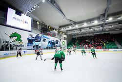 Hala Tivoli during Ice Hockey match between HK SZ Olimpija Ljubljana and HDD Jesenice in Round #24 of Alps Hockey League, on December 22, 2018 in Hala Tivoli, Ljubljana, Slovenia. Photo by Ziga Zupan / Sportida