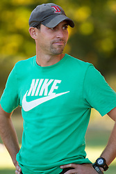 Boston College Invitational Cross Country race at Franklin Park; Andy Powell, Univ of Oregon coach