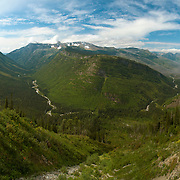 MacDonald Creek Valley, Glacier National Park, Montana