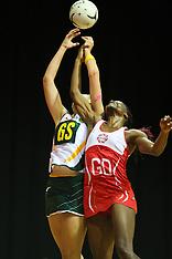 Hamilton-Netball, Quad Series, England v South Africa
