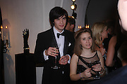 Mark Vandelli and Alessia de Quincy. Dinner to unveil the Van Cleef & Arpels jewellery collection 'Couture' with fashion by Anouska Hempel Couture. The Banqueting House, Whitehall Palace, London on 8th March 2005.ONE TIME USE ONLY - DO NOT ARCHIVE  © Copyright Photograph by Dafydd Jones 66 Stockwell Park Rd. London SW9 0DA Tel 020 7733 0108 www.dafjones.com