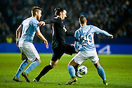 25.11.2015. Malm&ouml;, Sweden. <br /> Zlatan Ibrahimovic of Paris in action during the UEFA Champions League match at the Malm&ouml; New Stadium. <br /> Photo: &copy; Ricardo Ramirez.