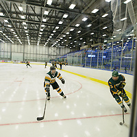 5th year forward Kylie Gavelin (13) of the Regina Cougars in action during the preseason Cougars Alumni Game on September 30 at Co-Operators Centre. Credit: Arthur Ward/Arthur Images