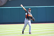 ANAHEIM, CA - JULY 05:  Pitcher Jason Berken #49 of the Baltimore Orioles warms up before the game against the Los Angeles Angels of Anaheim at Angel Stadium on Sunday, July 5, 2009 in Anaheim, California.  The Angels defeated the Orioles 9-6.  (Photo by Paul Spinelli/MLB Photos via Getty Images)  *** Local Caption *** Jason Berken