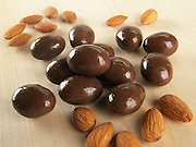 Carob Chocolate coated Almonds