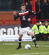 Dundee's Iain Davidson - Dundee v Greenock Morton, William Hill Scottish Cup 5th Round at Dens Park .. - © David Young - www.davidyoungphoto.co.uk - email: davidyoungphoto@gmail.com