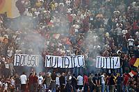 Tifosi roma Striscione Adesso multateci tutti <br /> Roma 23-09-2017 Stadio Olimpico Calcio Serie A 2017/2018 AS Roma - Udinese Foto Andrea Staccioli / Insidefoto