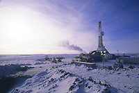 Western Arctic Oil drilling rig