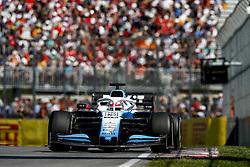 June 9, 2019 - Montreal, Canada - Motorsports: FIA Formula One World Championship 2019, Grand Prix of Canada, ..#63 George Russell (GBR, ROKiT Williams Racing) (Credit Image: © Hoch Zwei via ZUMA Wire)