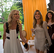 JOELY RICHARDSON AND HER SISTER CATHERINE HESS, Raisa Gorbachev Foundation Party, at the Stud House, Hampton Court Palace on June 7, 2008 in Richmond upon Thames, London,Event hosted by Geordie Greig and is in aid of the Raisa Gorbachev Foundation - an international fund fighting child cancer.  7 June 2008.  *** Local Caption *** -DO NOT ARCHIVE-© Copyright Photograph by Dafydd Jones. 248 Clapham Rd. London SW9 0PZ. Tel 0207 820 0771. www.dafjones.com.