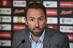 England Press Conference - 24 August 2017
