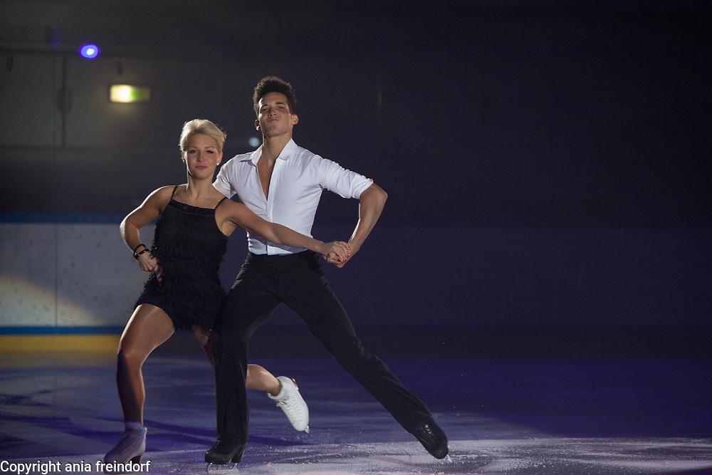 International Ice Skating Gala, Courchevel, France, 20 July 2017, Justyna Plutowska, Jeremie Flemin, Members of National Team, Poland,