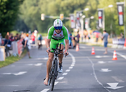 07.07.2019, Klagenfurt, AUT, Ironman Austria, Radfahren, im Bild Ivan Tutukin (RUS) // Ivan Tutukin (RUS) during the bike competition of the Ironman Austria in Klagenfurt, Austria on 2019/07/07. EXPA Pictures © 2019, PhotoCredit: EXPA/ Johann Groder