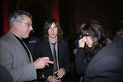 BOBBY GILLESPIE. Private view for the Turner prize  2005.  Tate. Britain. 17 October 2005. ONE TIME USE ONLY - DO NOT ARCHIVE © Copyright Photograph by Dafydd Jones 66 Stockwell Park Rd. London SW9 0DA Tel 020 7733 0108 www.dafjones.com