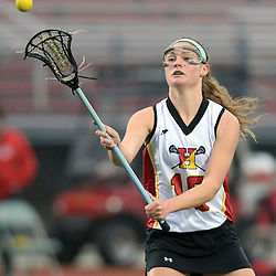 Staff photos by Tom Kelly IV<br /> Haverford's Mairead Janzer (18) passes the ball.