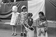 Fancy dress competition. 1984 Yorkshire Miner's Gala. Wakefield.