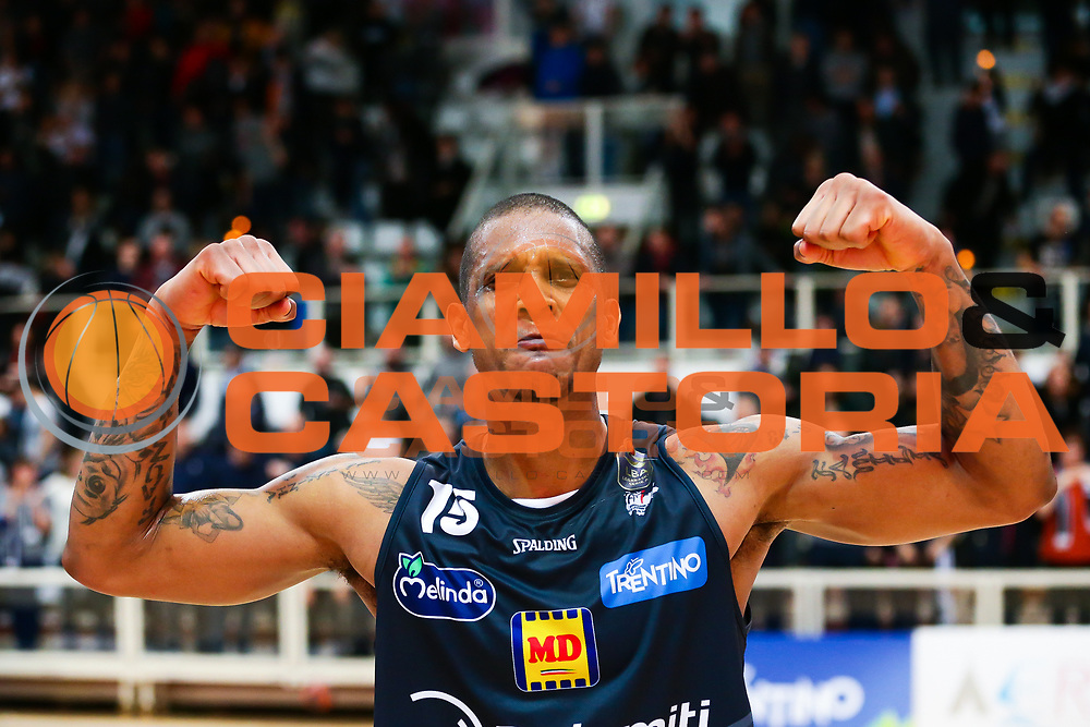 Joao Beto Gomes<br /> Dolomiti Energia Aquila Basket Trento - Pasta Reggia Juve Caserta<br /> Lega Basket Serie A 2016/2017<br /> PalaTrento 04/03//2017<br /> Foto Ciamillo-Castoria / M. Brondi