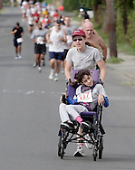 Middletown, New York - Runners compete in the Run4Downtown four-mile road race on Aug. 21, 2010.