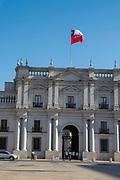 Palacio la Moneda, Santiago, Chile. Offices of the President of Chile.