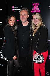 Much Ado About Nothing gala film Daisy Head, Anthony Head and Emily Head during London premiere of the modern take on Shakespeare's classic comedy.  Apollo West End/Piccadilly Circus, <br /> London, United Kingdom<br /> Tuesday, 11th June 2013<br /> Picture by Nils Jorgensen / i-Images