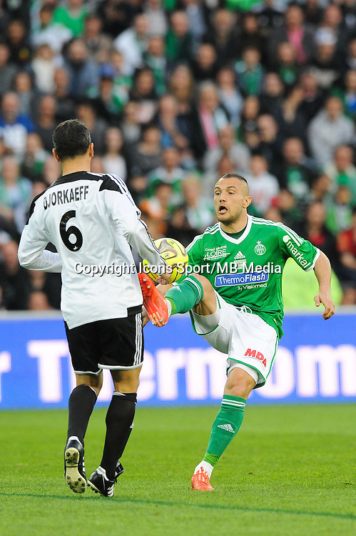 Youri DJORKAEFF / Yohan MOLLO - 20.04.2015 - Match contre la Pauvrete - Saint Etienne <br /> Photo : Jean Paul Thomas / Icon Sport *** Local Caption ***