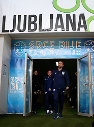 England interim manager Gareth Southgate arrives at The SRC Stozice Stadium ahead of the World Cup Qualifier against Slovenia - Mandatory by-line: Robbie Stephenson/JMP - 10/10/2016 - FOOTBALL - SRC Stozice - Ljubljana, England - England Press Conference