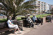 3 ladies all residents of the Sackville, Bexhill, 9 May 2020