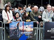 30.MARCH.2014. LONDON<br /> <br /> CODE - CAD<br /> <br /> THE UK PREMIERE OF 'DIVERGENT' AT THE ODEON IN LEICESTER SQUARE, LONDON<br /> <br /> BYLINE: EDBIMAGEARCHIVE.CO.UK<br /> <br /> *THIS IMAGE IS STRICTLY FOR UK NEWSPAPERS AND MAGAZINES ONLY*<br /> *FOR WORLD WIDE SALES AND WEB USE PLEASE CONTACT EDBIMAGEARCHIVE - 0208 954 5968*