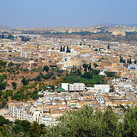 Historical Formation of Fez, Morocco <br />