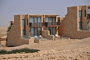 Israel, Negev, Beresheet (Genesis) Isrotel hotel on the cliff of the Ramon Crater,