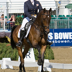 Tamsin Hutchins and Badger Best  Express Eventing 2010