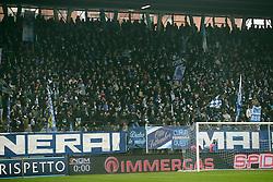 """Foto Filippo Rubin<br /> 10/12/2016 Ferrara (Italia)<br /> Sport Calcio<br /> Spal vs Spezia - Campionato di calcio Serie B ConTe.it 2016/2017 - Stadio """"Paolo Mazza""""<br /> Nella foto: I TIFOSI DELLA SPAL<br /> <br /> Photo Filippo Rubin<br /> December 10, 2016 Ferrara (Italy)<br /> Sport Soccer<br /> Spal vs Spezia - Italian Football Championship League B ConTe.it 2016/2017 - """"Paolo Mazza"""" Stadium <br /> In the pic: I TIFOSI DELLA SPAL"""