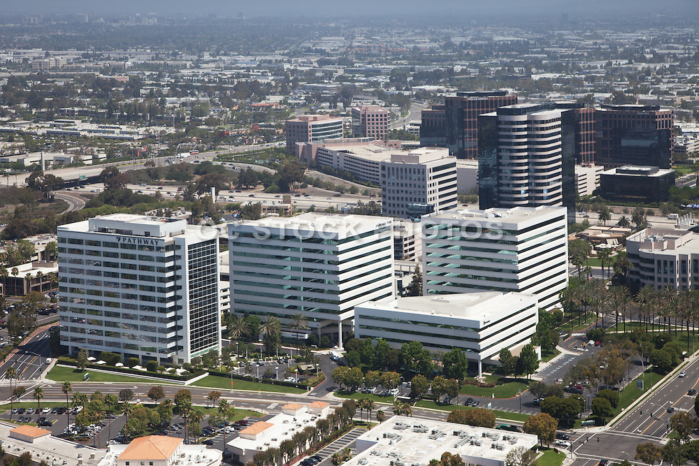 Aerial Photo of Irvine California